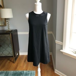 Isaac Mizrahi Black Shift LBD Dress